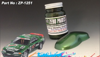 Castrol Metallic Green Paint - Zero Paints