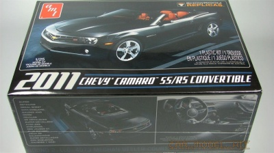 Chevy Camaro SS/RS 2011 Convertible - AMT