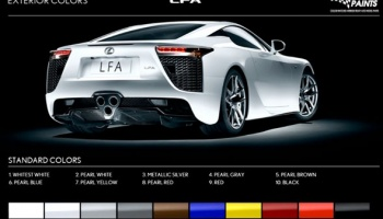 Lexus LFA Pearl White 2x30ml - Zero Paints
