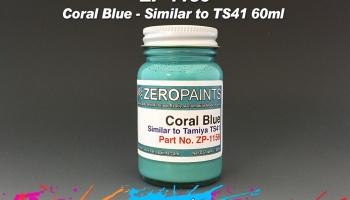 Coral Blue Paint (Similar to TS41) - Zero Paints