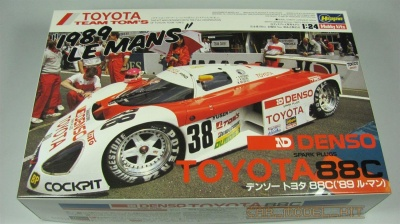 "Denso Toyota 88C ""1989 Le Mans"" Limited Edition - Hasegawa"