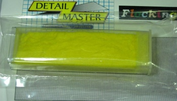 Velour Flocking Yellow - Detail Master