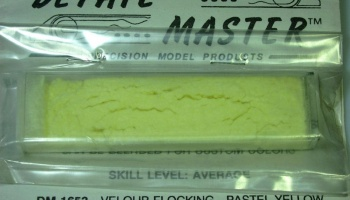 Velour Flocking Pastel Yellow - Detail Master