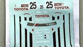 Toyota Corolla Levin AE101 ADVAN Gr. A 92' Decal for Hasegawa - Decalpool
