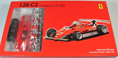 Ferrari 126 C2 Long Beach GP 1982 - Fujimi
