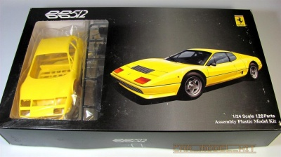 Ferrari 512BB Yellow - Fujimi