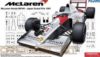 Mclaren Honda MP4/6 1991 Japan GP - Fujimi