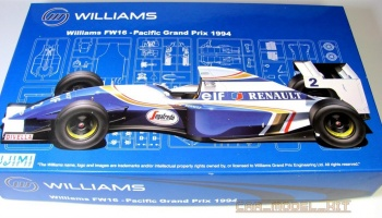 Williams FW16 Pacific Grand Prix 1994 - Fujimi