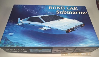 Bond Car Submarine - Fujimi