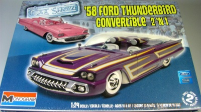 Ford Thunderbird 1958 Convertible (2 in 1) - Revell Monogram