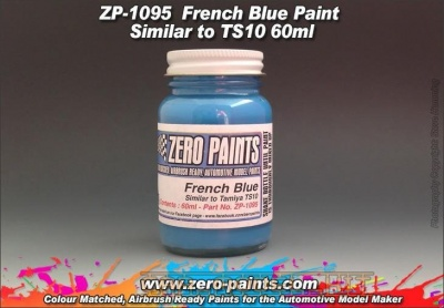 French Blue Paint (Similar to TS10) 60ml - Zero Paints