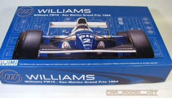 Williams FW16 San Marino GP 1994 - Fujimi