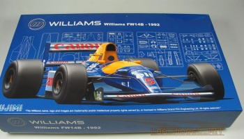 Williams FW14B 1992 - Fujimi