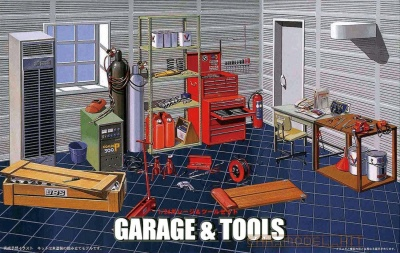 Garage and Tools Set - Fujimi