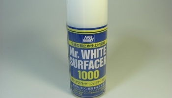 Mr.White Surfacer 1000, stříkací tmel bílý 170 ml - Gunze
