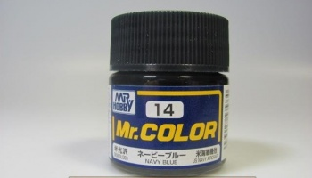 Mr. Color C 014 - Navy Blue - Námořní modrá - Gunze