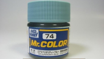 Mr. Color C 074 - Air Superiority Blue - Modrá - Gunze