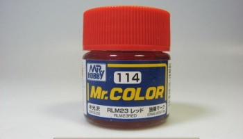 Mr. Color C 114 - RLM23 Red - Červená - Gunze