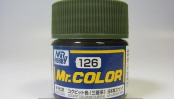 Mr. Color C 126 - Cockpit Color (Mitsubishi) - Barva kokpitu - Gunze