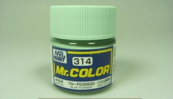 Mr. Color C 314 - FS35622 Blue - Modrá - Gunze