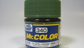 Mr. Color C 340 - FS34097 Field Green - Polní zelená - Gunze