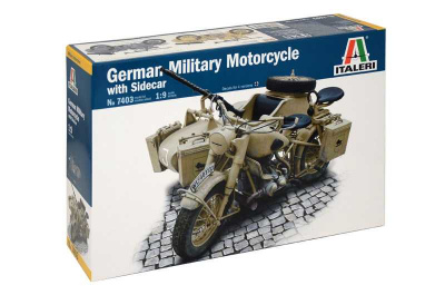 German Military with Sidecar 1:9 - Italeri