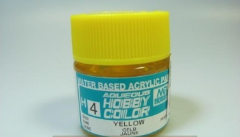 Hobby Color H 004 - Yellow Gloss - Žlutá lesklá - Gunze