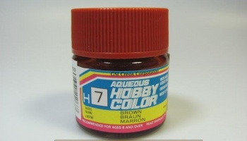 Hobby Color H 007 - Brown Gloss - Hnědá lesklá - Gunze