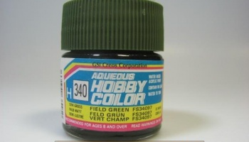 Hobby Color H 340 - FS34097 Field Green - Polní zelená - Gunze