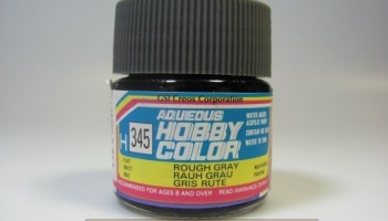 Hobby Color H 345 - Rough Gray - Hrubá šedá - Gunze