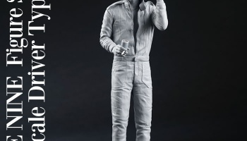 Figure James Hunt - Model Factory Hiro