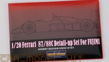 FERRARI F1 87/88C Detail-up Set For Fujimi - Hobby Design