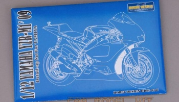 "Yamaha YZR-M1 09"" Detail-up Set For Tamiya - Hobby Design"