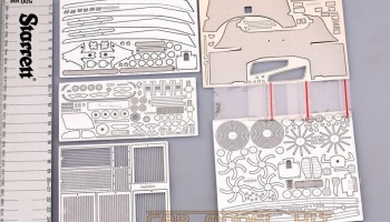 Ferrari ENZO 1/12 For Tamiya(PE+Metal parts)- Hobby Design