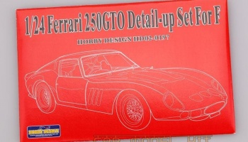 FERRARI 250GTO Photo Etched Set For Fujimi - Hobby Design