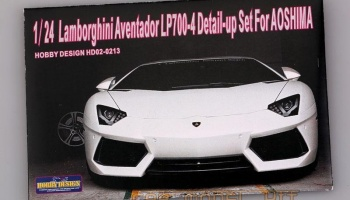 Lamborghini Aventador LP700-4 Detail-up Set For A - Hobby Design