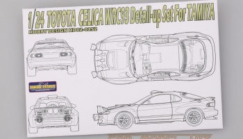 Toyota Celica WRC 93 Detail-up Set For T - Hobby Design