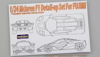 Mclaren F1 Detail-up Set For Fujimi - Hobby Design