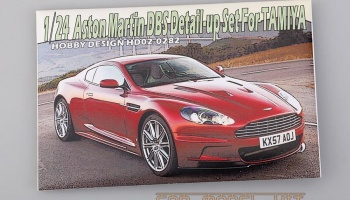 Aston Martin DBS Detail-up Set For Tamiya - Hobby Design