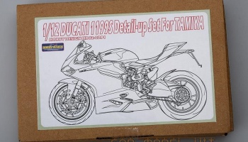 Ducati 1199 Panigale S Detail-up Set For T - Hobby Design