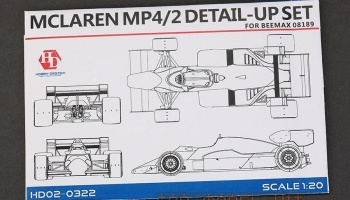 Mclaren MP4/2 Detail-UP Set - Hobby Design