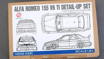 Alfa Romeo 155 V6 TI Detail - UP Set for T - Hobby Design