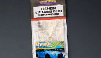 LB-Works R35 GTR For Aoshima 054042 - Hobby Design