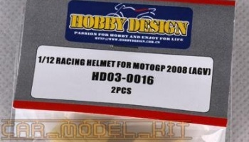 Racing Helmet For MOTOGP 2008 - Hobby Design