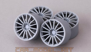 20' Wheels AVS Model F15 For GTR R35 - Hobby Design