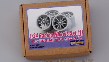 Racing Wheels Set(1) For Fujimi MP4-12C GT3 - Hobby Design