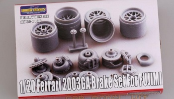 Ferrari 2003-GA Brake Set For Fujimi - Hobby Design