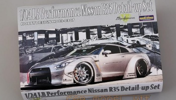 LB Performance Nissan R35 Detail-up Set - Hobby Design