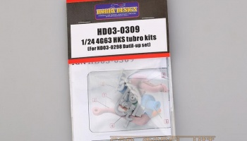 4G63 HKS Turbo Kits (For HD03-0298 Detail-up Set) - Hobby Design