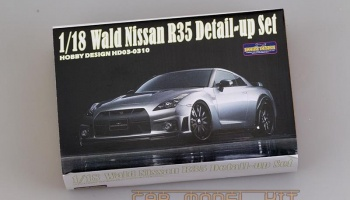 Wald Nissan R35 Detail-up Set 1/18 - Hobby Design